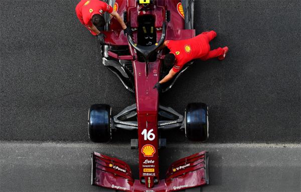 Equipe italiana utilizará pintura retrô para seu milésimo GP na F1. Foto: Scuderia Ferrari