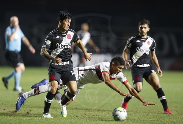 Cruzmaltino vem de derrota em casa para o Atlético-GO. Foto: Rafael Ribeiro/Vasco