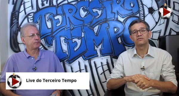 João Antônio e Frank Fortes debateram a condição atual de Rogério Ceni. Foto: Reprodução