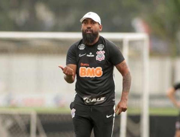 Dyego Coelho, técnico interino do Timão. Foto: Rodrigo Coca/Ag. Corinthians