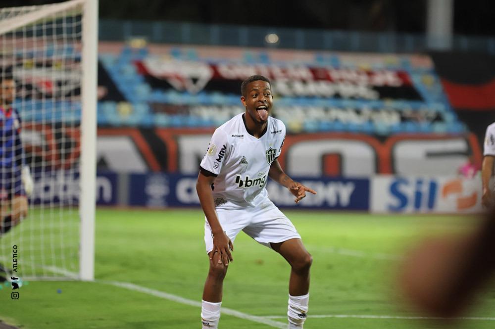 Atacante nunca havia feito três gols em um único jogo. Foto: Divulgação/CAM