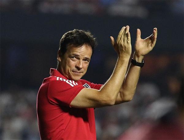 Fernando Diniz, técnico do São Paulo. Foto: Alexandre Vidal/SPFC