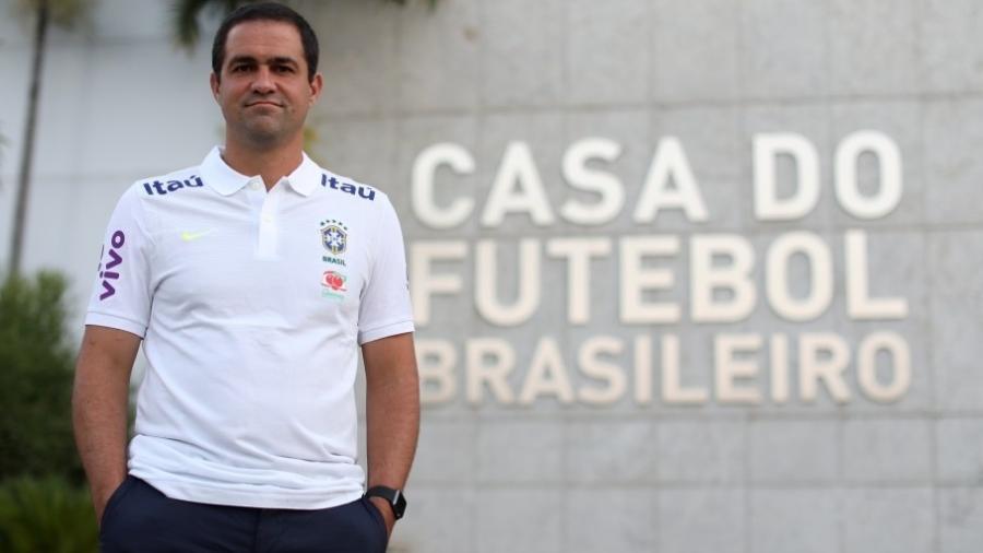 André Jardine, novo técnico da seleção brasileira sub-20