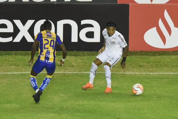 Equipe da Vila dominou as ações jogando fora de casa. Foto:: Twitter/Santos F.C