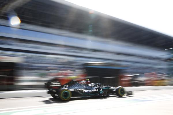 Mercedes foi a força reinante no traçado russo. Foto: Mercedes-AMG F1