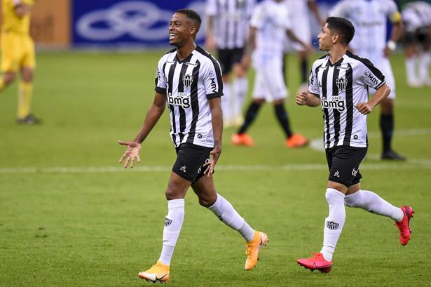 Atacante foi o grande destaque do jogo no Mineirão. Foto: Divulgação/Atlético