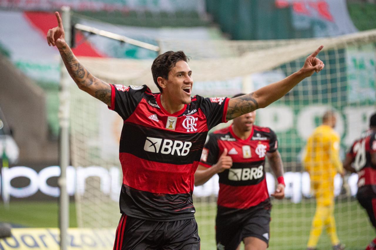 Após pedir para adiar partida, Flamengo conseguiu empate com o Palmeiras (Foto: Alexandre Vidal/Flamengo?