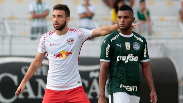 Léo Ortiz foi um dos destaques da campanha do Red Bull no Campeonato Paulista. Foto: Marcello Zambrana/AGIF/Via UOL