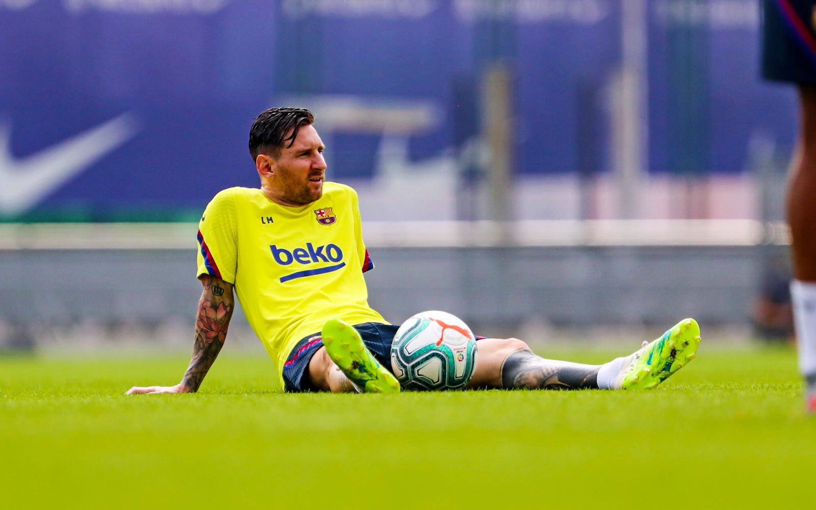 Messi tem contrato com o Barcelona até o final da temporada 2020/21. Foto: Facebook/Reprodução