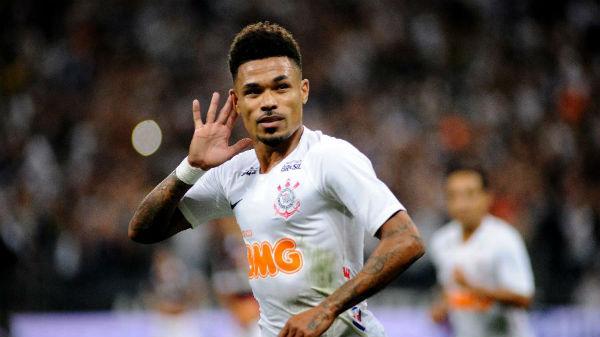 Júnior Urso comemora gol pelo Corinthians contra a Ferroviária. Fotoo: Alan Morici/AGIF/Via UOL