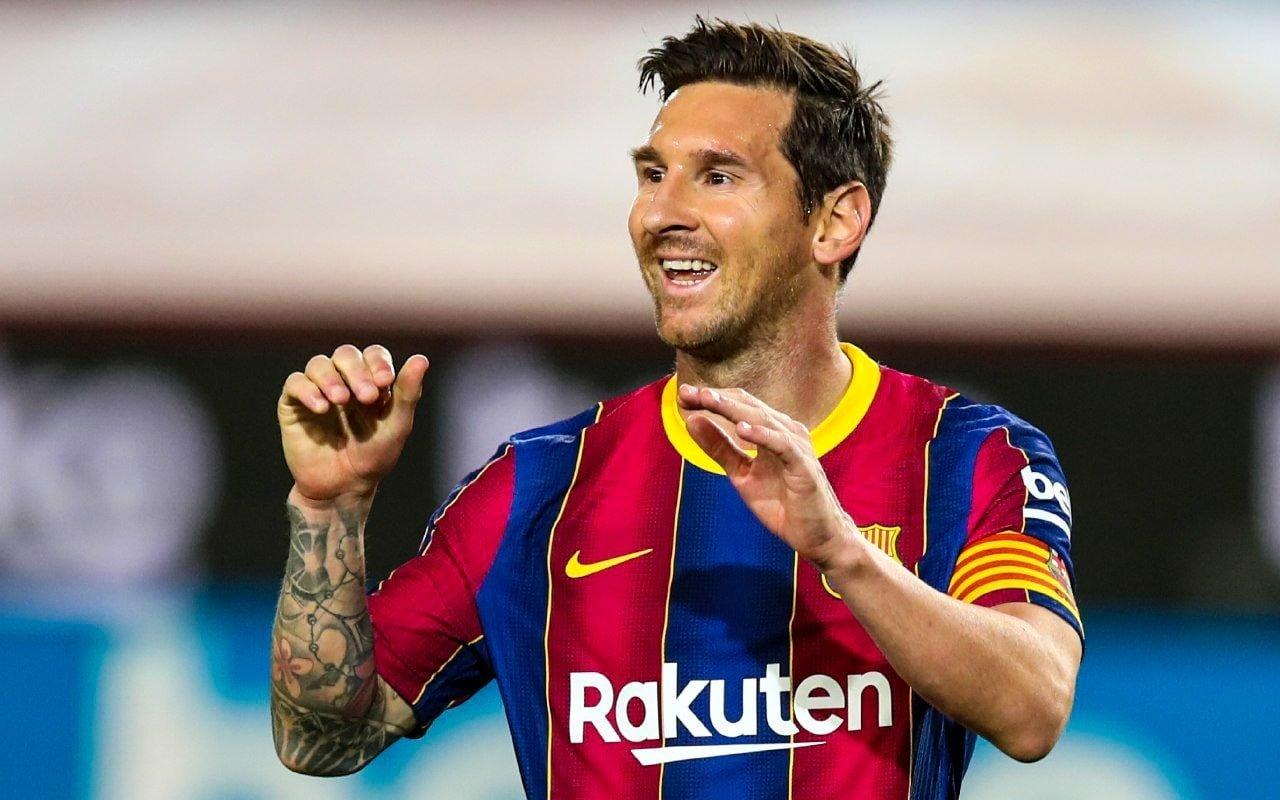 Messi declarou que sua crise com a direção do Barça passou e garantiu foco total no clube. Fofo: Facebook/Reprodução