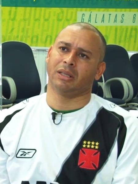Jogador atuou pelo Vasco, mas vícios comprometeram carreira. Foto: Reprodução/Lance/Via UOL