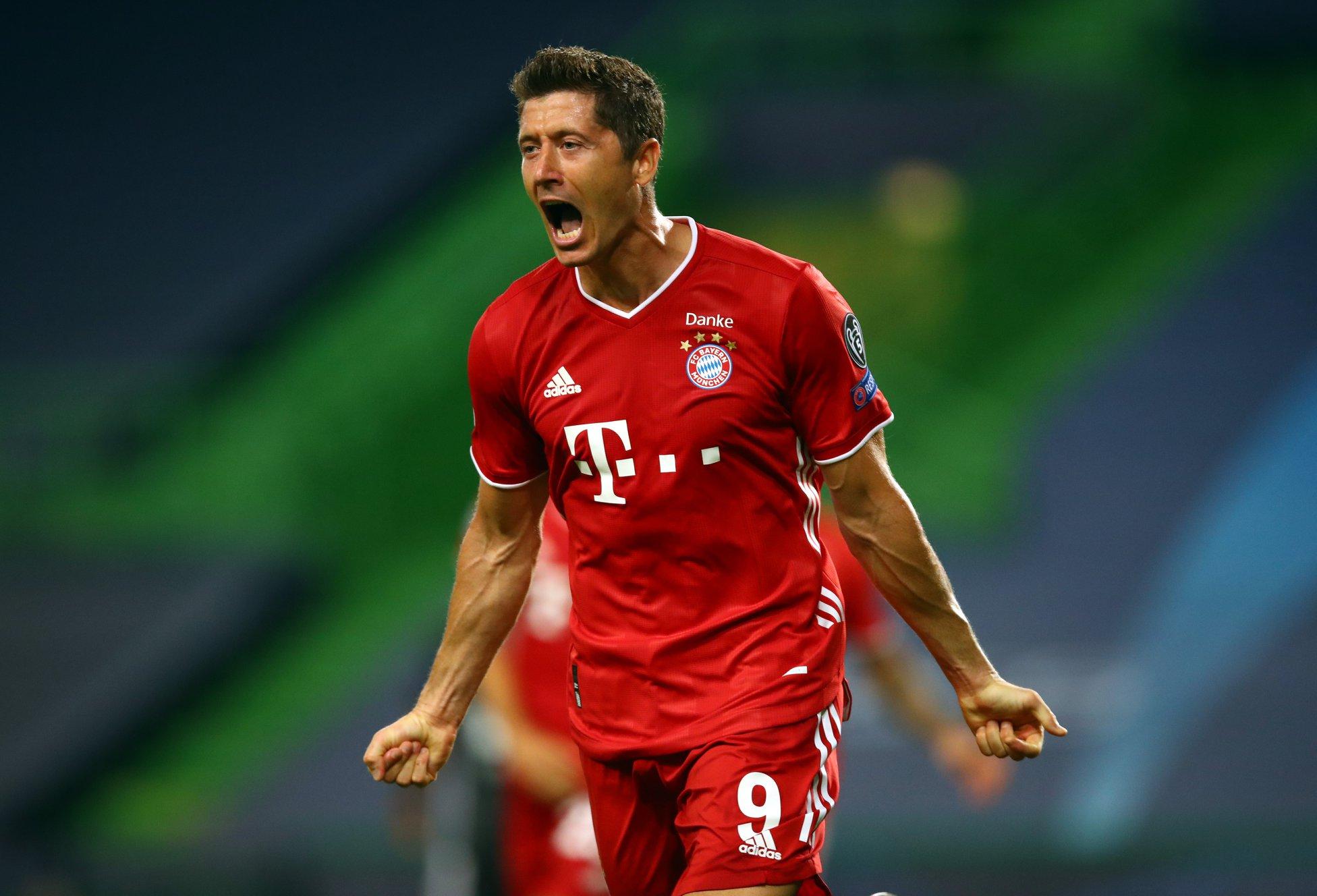 Camisa 9 do Bayern foi artilheiro e campeão da última Liga dos Campeões. Foto: Facebook/Reprodução