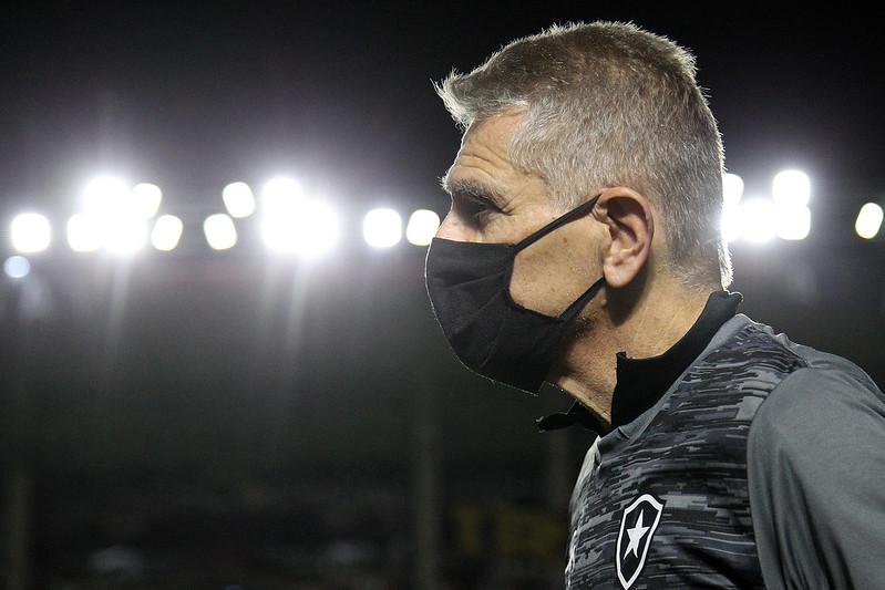 Sob o comando de Autuori, Fogão não vence há 10 jogos no Brasileirão. Foto: Vitor Silva/Botafogo