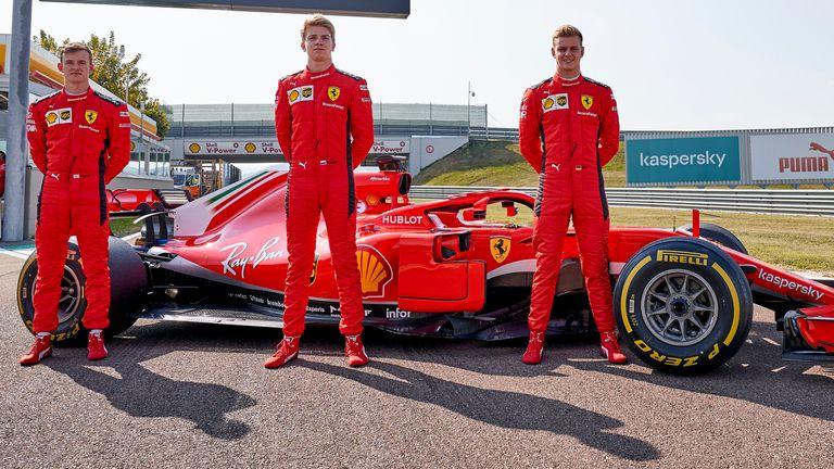 Equipe italiana promoveu teste com três pilotos em Fiorano. Foto: Scuderia Ferrari