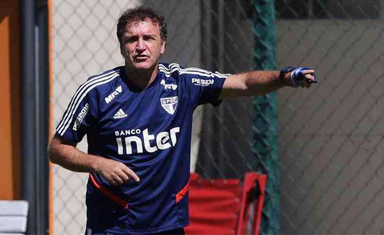 O gol de Vagner Love no fim da partida frustrou o São Paulo, mas a avaliação de Cuca é positiva