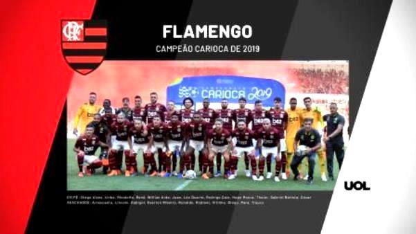 Rubro-negro bate o Vasco na decisão e comemora conquista do campeonato carioca de 2019