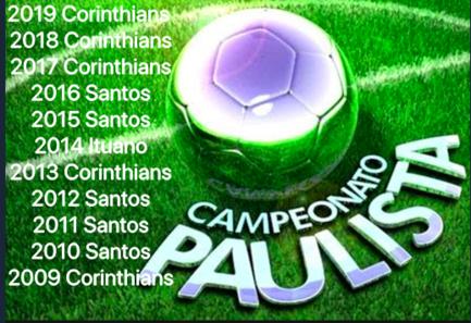 Neste período, Palmeiras e São Paulo simplesmente sumiram do pódio