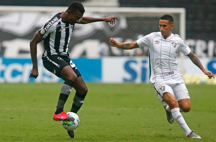 Clássico carioca começou com o Tricolor na frente. Foto: Vitor Silva/Botafogo
