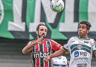 Equipe tricolor voltou a jogar mal. Foto: Coritiba/Divulgação
