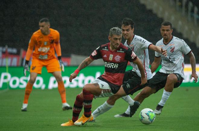 Equipe carioca foi mais decisiva no confronto diante do time paranaense. Foto: Flamengo/Divulgação