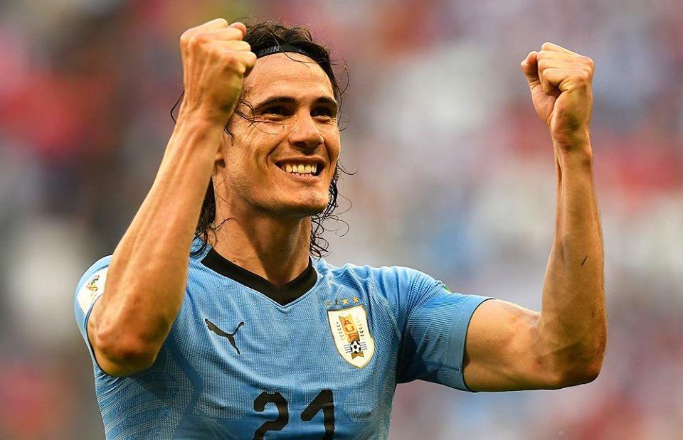 Atacante uruguaio assinou contrato de um ano com o time inglês. Foto: Facebook/Reprodução