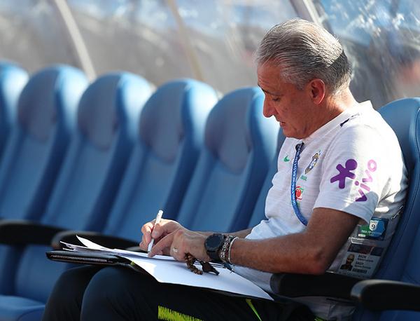 Tite, técnico da seleção brasileira. Foto: Divulgação/CBF