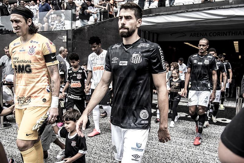 No último confronto entre as duas equipes, vitória do Timão na Arena pelo Paulistão. Foto: Ivan Storti/Santos FC
