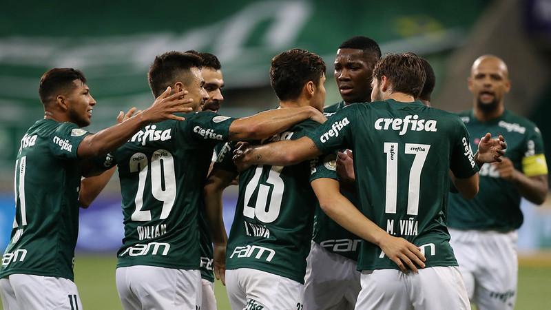 Palmeiras ocupa a terceiro posição na classificação do Brasileiro. Foto: Cesar Greco