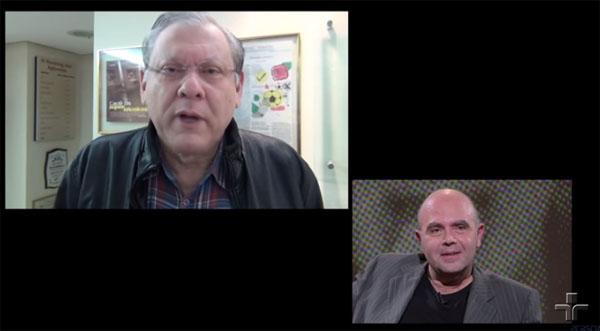 Jornalista homenageou o amigo no programa `Persona em Foco´, da TV Cultura