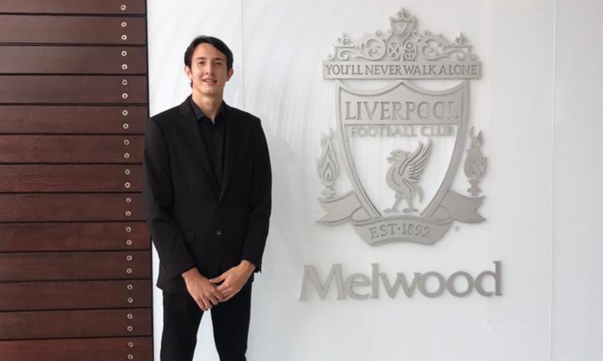 Marcelo Pitaluga integrará os times de base do Liverpool. Foto: Divulgação