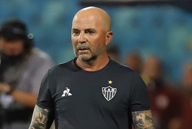 Treinador argentino explicou os problemas de sua equipe. Foto:  Pedro Souza / Agência Galo / Clube Atlético Mineiro