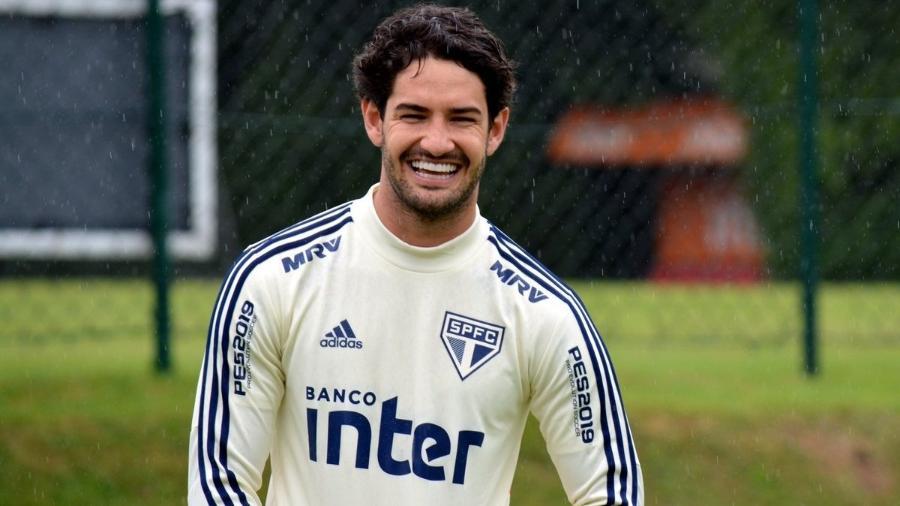 Alexandre Pato, atacante do São Paulo