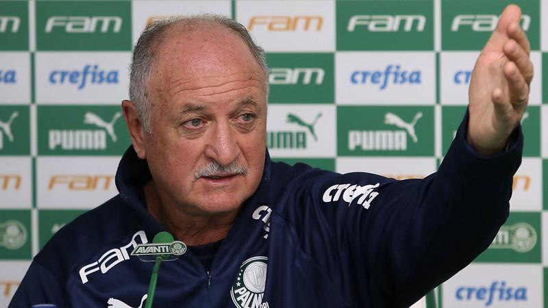 Scolari está sem clube desde que deixou o Palmeiras em setembro de 2019. Foto: Cesar Greco