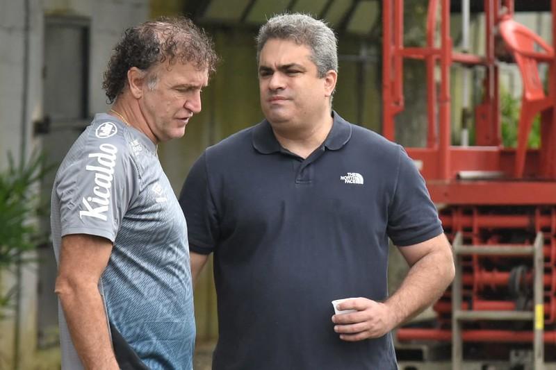 Peixe tem pendências a quitar com o Huachipato e Atlético Nacional. Foto: Ivan Storti/Santos