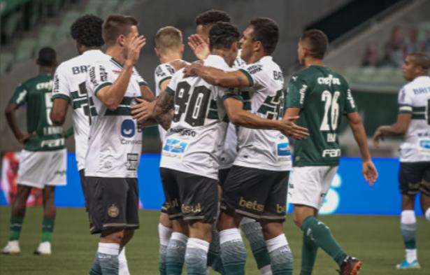 Equipe paranaense dominou o Alviverde. Foto: Divulgação/Coritiba