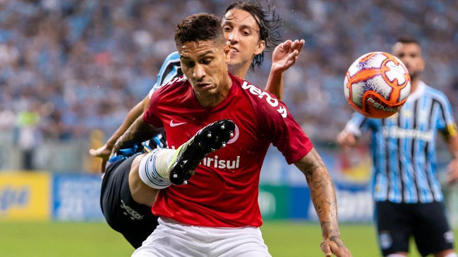 Paolo Guerrero não vai participar da estreia do Inter no Campeonato Brasileiro, sábado