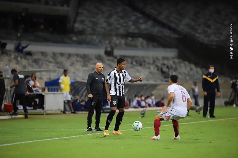 Equipe mineira segue na liderança do Brasileiro. Foto: Atlético-MG/Divulgação