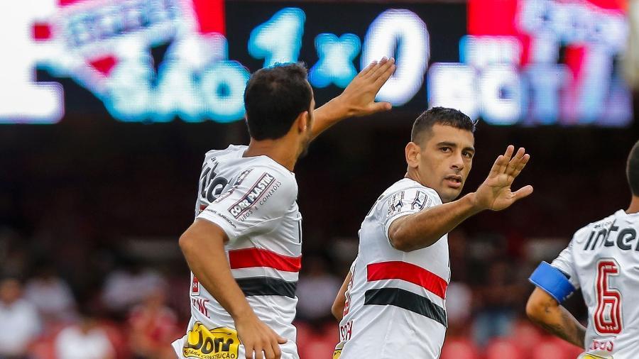 Diego Souza e Nenê vão deixar o SP?