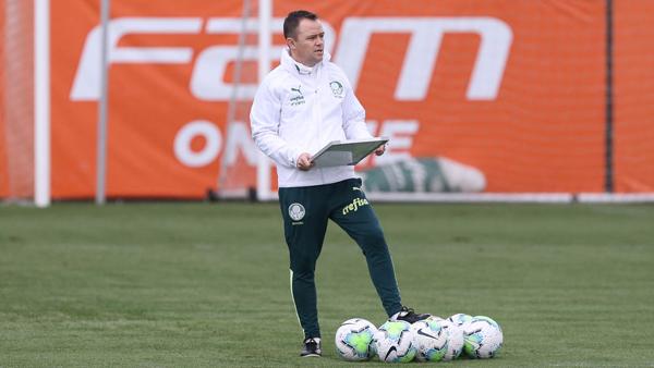 Andrey Lopes comandará o Alviverde. Foto: Cesar Greco/Palmeiras