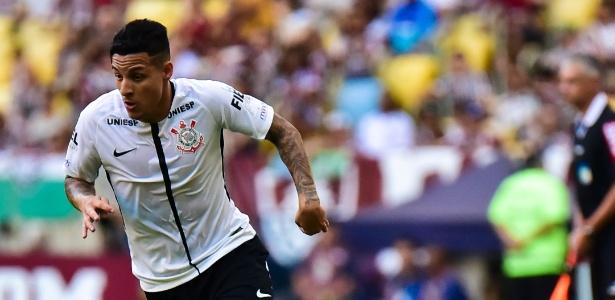 O lateral foi desfalque do Corinthians na partida contra o Racing, pela Copa Sul-Americana
