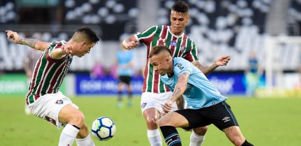 Everton fez o gol da vitória Tricolor. Foto: Thiago Ribeiro/AGIF/Via UOL