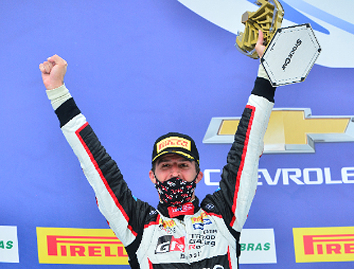 Multicampeão em seu país, o 'Míssil' terminou em segundo lugar a corrida 2 no Velocitta. Foto: Full Time Sports/Divulgação