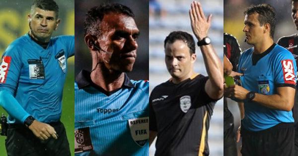 Marcelo de Lima Henrique, Dewson Freitas, Sávio Pereira Sampaio e Caio Max Vieira: atrapalhadas na rodada 27.
