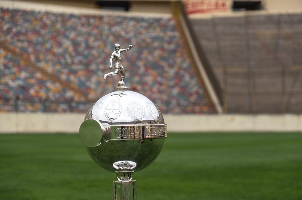 Confrontos das oitavas de final da Libertadores foram definidos em sorteio nesta sexta (23). Twitter/Conmebol