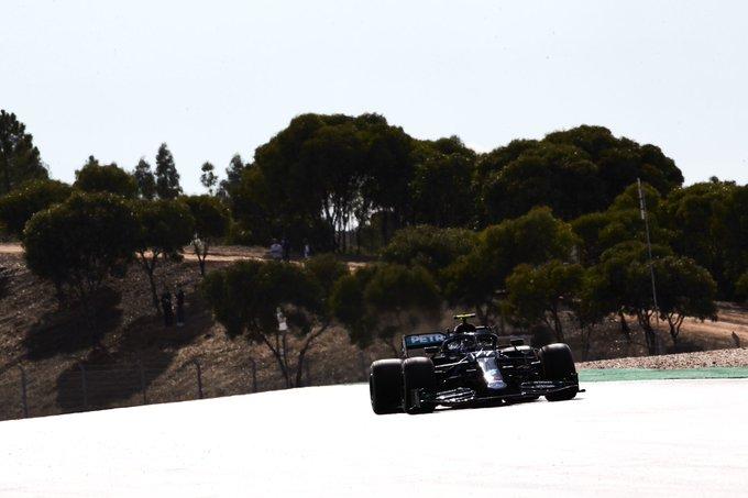 Finlandês comandou o TL3 no circuito de Algarve. Foto: Mercedes-AMG F1