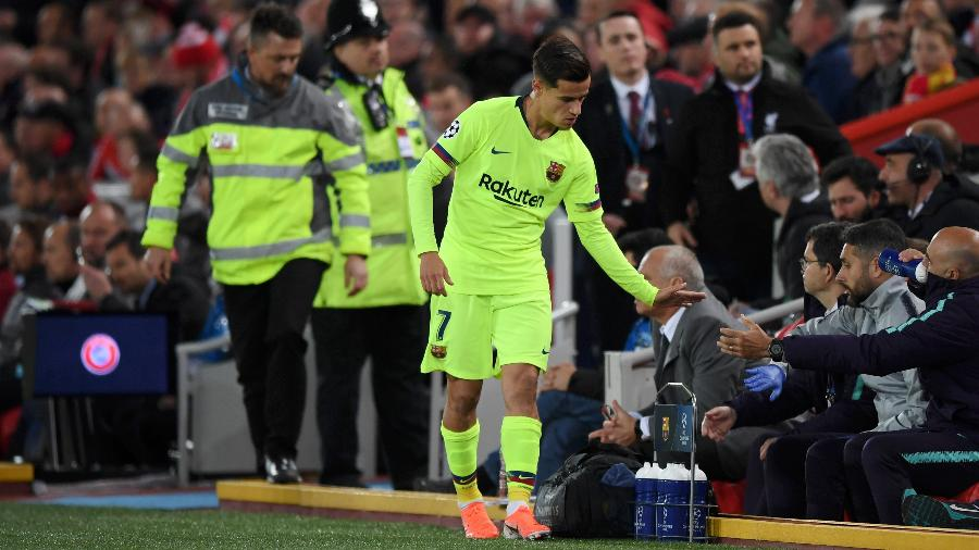Coutinho saindo do Barça?