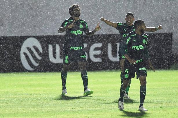 Equipe alviverde foi prevalente na disputa em Bragança Paulista. Foto: Twitter