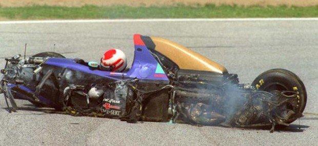 Piloto austríaco morreu após violento acidente em Imola, há 25 anos. Foto: Reprodução