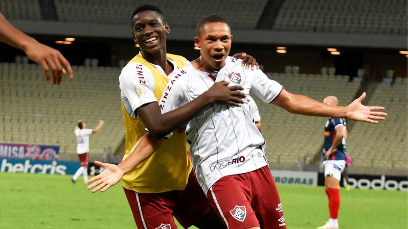 Wellington Silva marcou o gol da vitória dos cariocas. Foto: Mailson Santana/Fluminense
